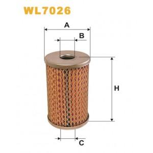 Filtro aceite Wix WL7026