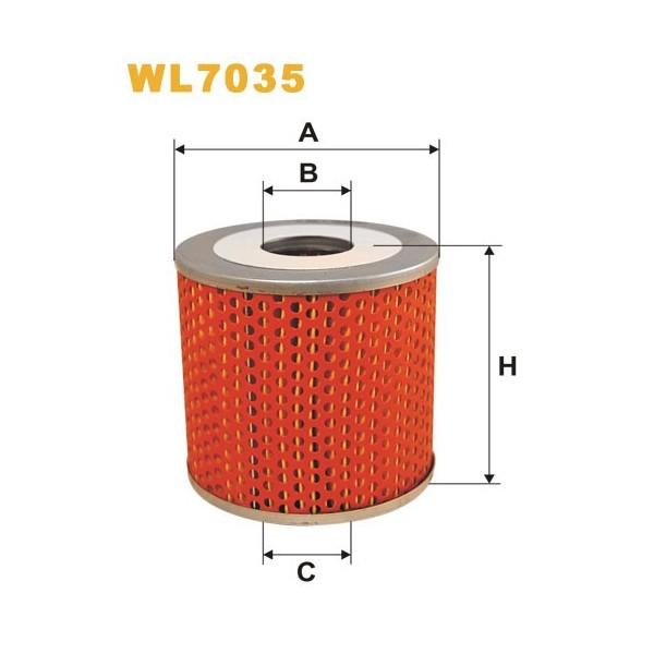 Filtro aceite Wix WL7035
