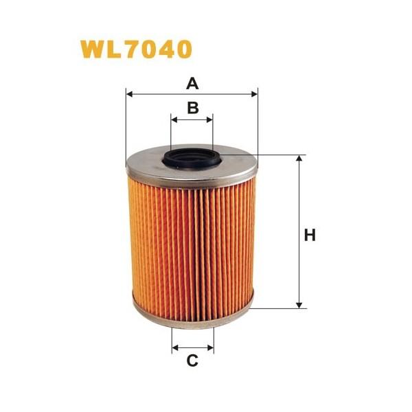Filtro aceite Wix WL7040
