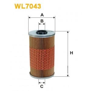 Filtro aceite Wix WL7043