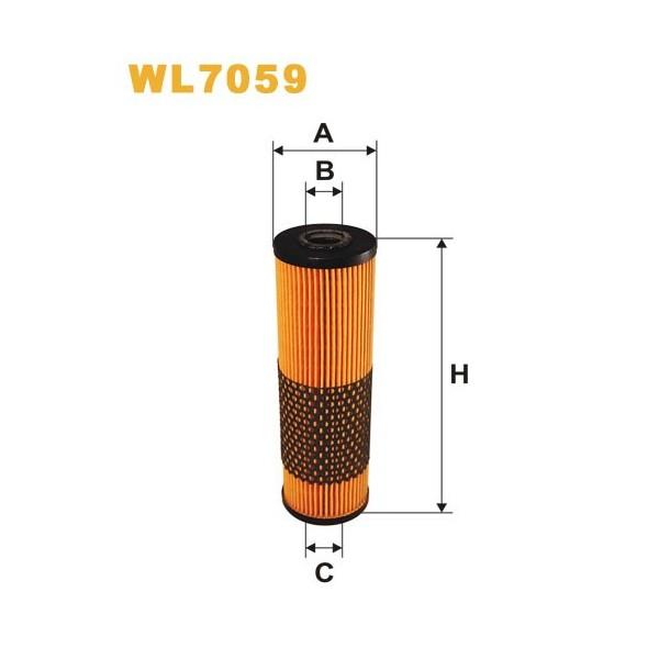 Filtro aceite Wix WL7059