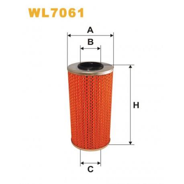 Filtro aceite Wix WL7061