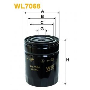 Filtro aceite Wix WL7068