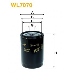 Filtro aceite Wix WL7070