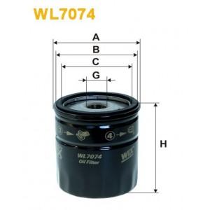 Filtro aceite Wix WL7074