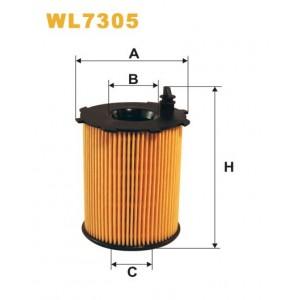 Filtro aceite Wix WL7305