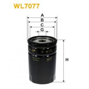 Filtro aceite Wix WL7077