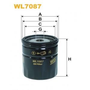 Filtro aceite Wix WL7087