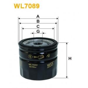 Filtro aceite Wix WL7089