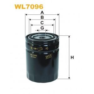 Filtro aceite Wix WL7096