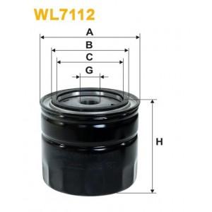 Filtro aceite Wix WL7112