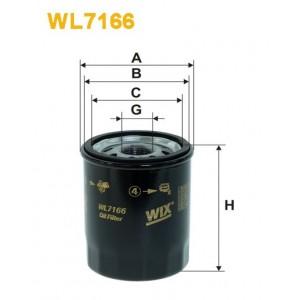Filtro aceite Wix WL7166