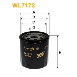 Filtro aceite Wix WL7172