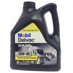Aceite Camion Mobil Delvac XHP ESP 10w40 4Ltr
