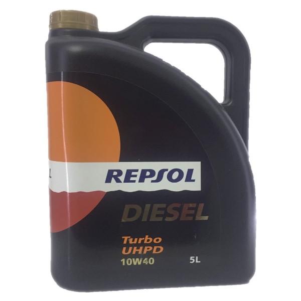 Repsol Diesel-Turbo UHPD Mid Saps 10w40 5Undx5Ltrs (caja)