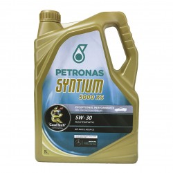 Aceite coche 5w30 Petronas Syntium 5000 XS 5Ltrs