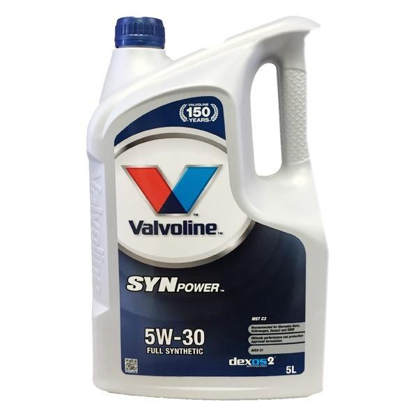 Aceite 5w30 Valvoline SYNPOWER Xtreme 5L