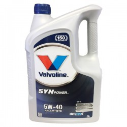 Aceite 5w40 Valvoline SYNPOWER Xtreme 5L
