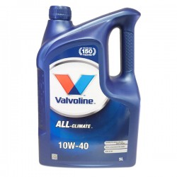 Valvoline All Climate 10w40 5L