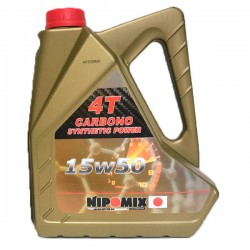 Aceite Nipomix Moto 4T 15w50 CARBONO 5 Ltr
