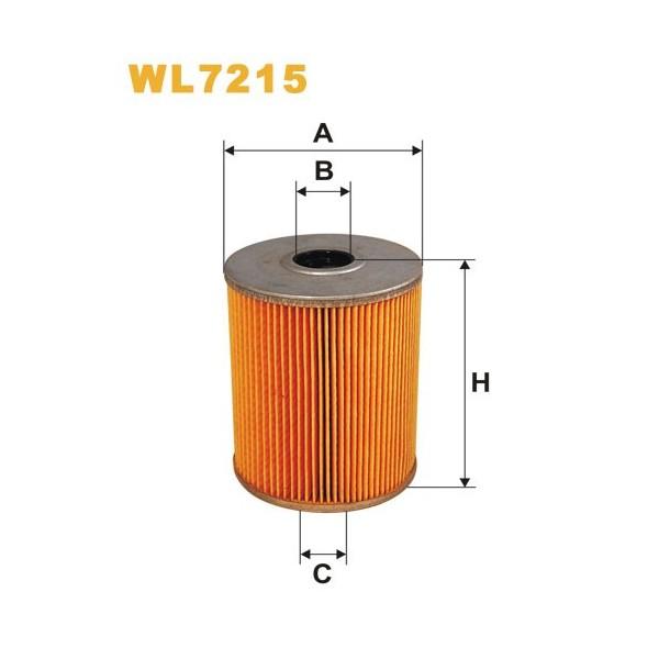 Filtro aceite Wix WL7215