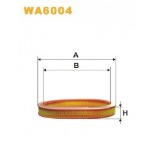 FILTRO DE AIRE WA6004