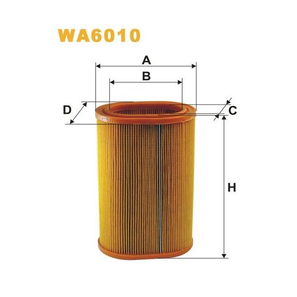 FILTRO DE AIRE WA6010