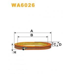 FILTRO DE AIRE WA6026