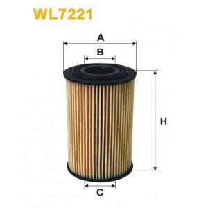 Filtro aceite Wix WL7221