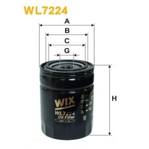 Filtro aceite Wix WL7224