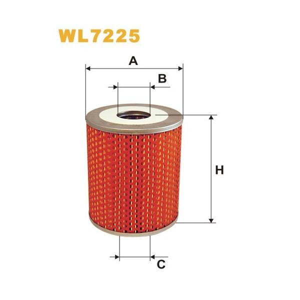 Filtro aceite Wix WL7225