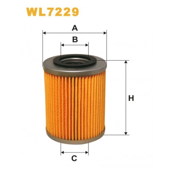 Filtro aceite Wix WL7229