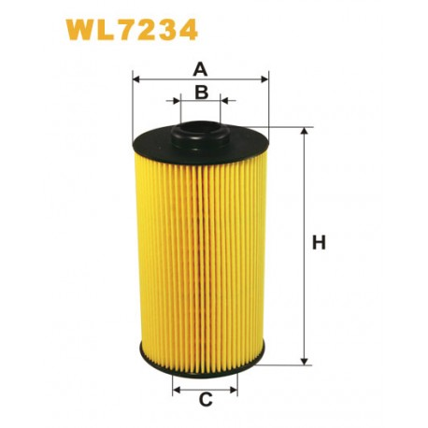 Filtro aceite Wix WL7234
