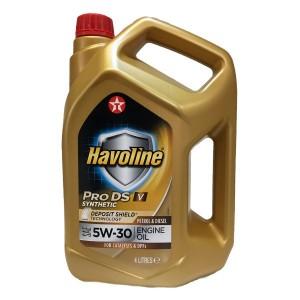 Aceite coche 5w30 Texaco Havoline ProDS V 5Ltrs