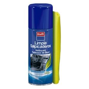 Limpia salpicaderos perfumado limón + bayeta Krafft