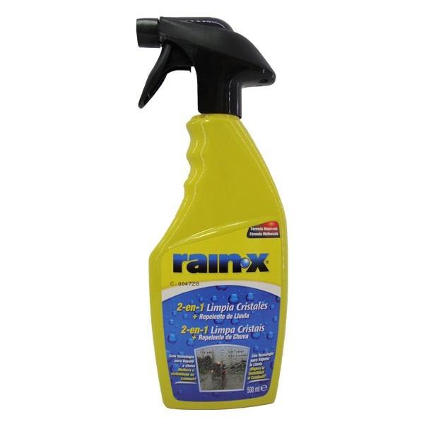 Limpia cristales y repelente lluvia RAIN-X 500ml
