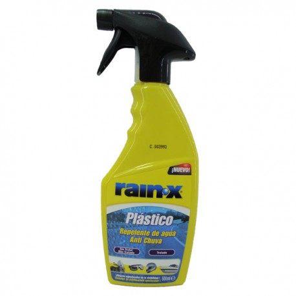 Replente agua para plasticos RAIN-X 500ml