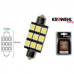 Lampara KRAWEHL PLAFONIER 11x36 9LEDS BLISTER 2 Ud.