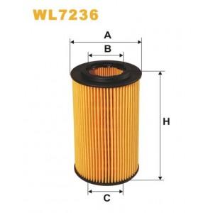 Filtro aceite Wix WL7236