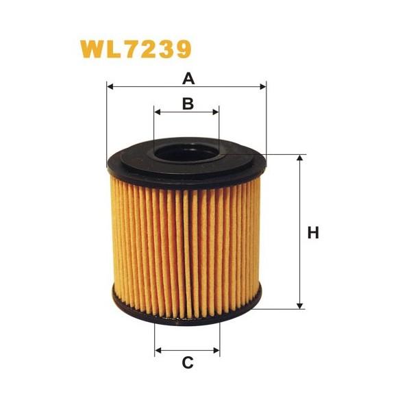 Filtro aceite Wix WL7239
