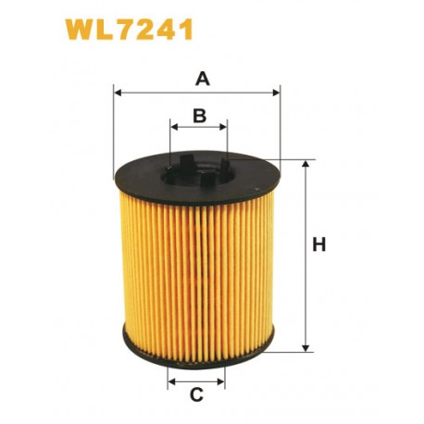 Filtro aceite Wix WL7241