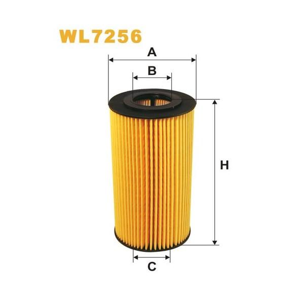 Filtro aceite Wix WL7256