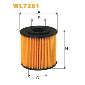 Filtro aceite Wix WL7261