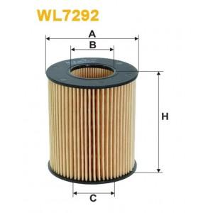 Filtro aceite Wix WL7292