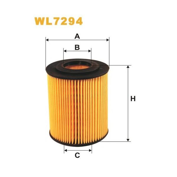 Filtro aceite Wix WL7294
