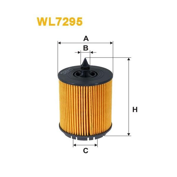 Filtro aceite Wix WL7295