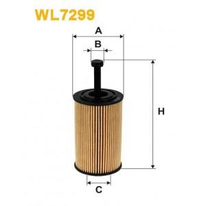 Filtro aceite Wix WL7299