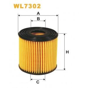Filtro aceite Wix WL7302