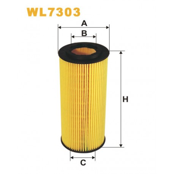 Filtro aceite Wix WL7303