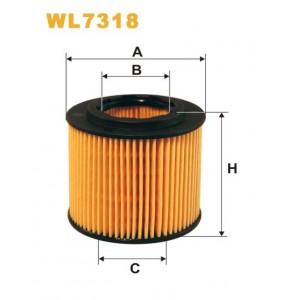 Filtro aceite Wix WL7318